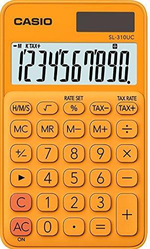 Casio SL-310UC-RG Taschenrechner, 10-stellig, in...