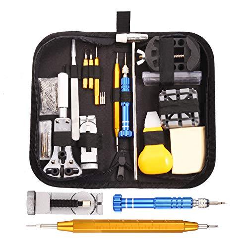 GUSODOR 147Pcs Uhrenwerkzeug Reparatur Set,...