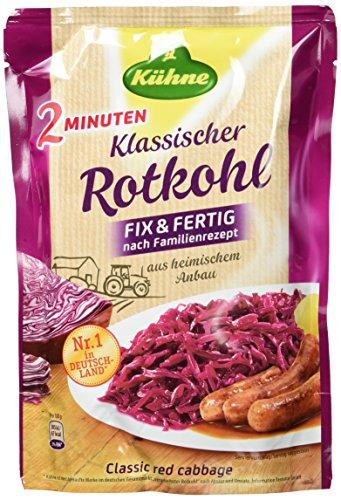 Kühne Klassischer Rotkohl im Beutel, Fix & Fertig...