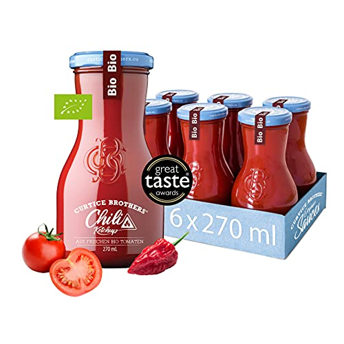 Curtice Brothers 6er-Pack Organic Chili Tomato...