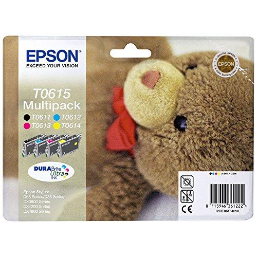 Epson Original C13T06154010 Teddybär, wisch- und...