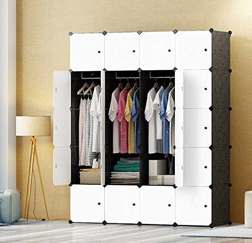 PREMAG DIY tragbarer Kleiderschrank, modularer...