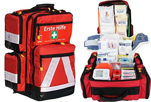 Erste Hilfe Notfallrucksack Sport Freizeit & Event...