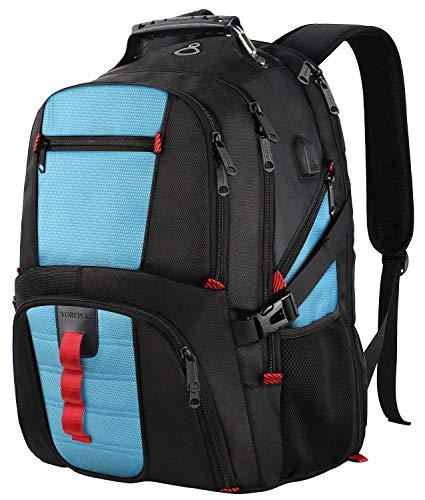 Extra großer Rucksack, TSA-Bundestagsreh mit USB...