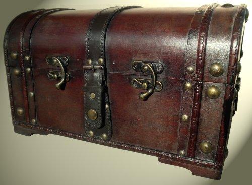 Schatzkiste Piratentruhe Geschenk Box Kasten...
