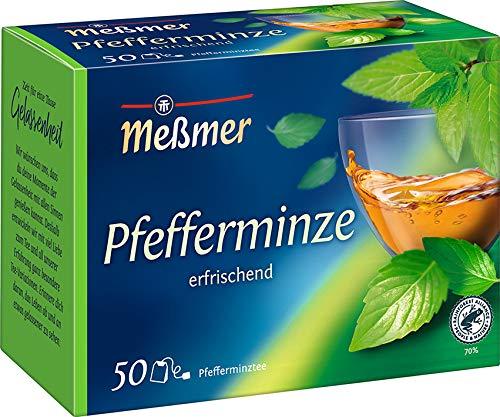 Meßmer Pfefferminze   50 Teebeutel   Vegan  ...