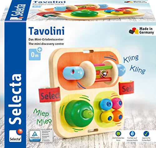 Selecta 62014 Tavolini, Motorikspielzeug aus Holz,...