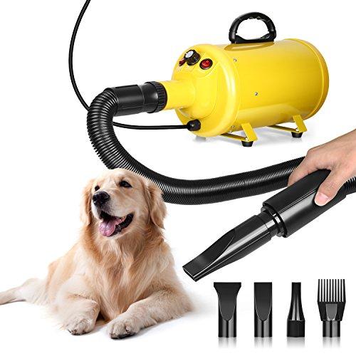 amzdeal Hundefön Pet Dryer 2800W für Hundepflege...