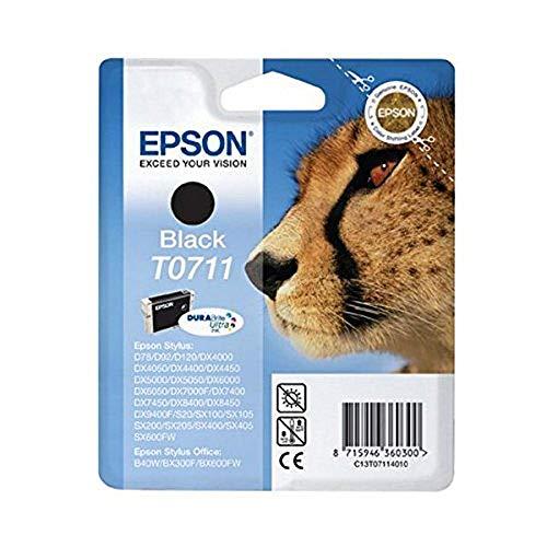 Epson Original T0711 Tinte Gepard, wisch- und...