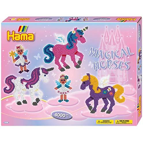Hama Perlen 3138 Geschenkset Zauberhafte Pferde...