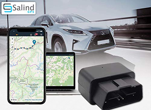SALIND GPS-Tracker Auto, Fahrzeuge und LKW´s OBD2...
