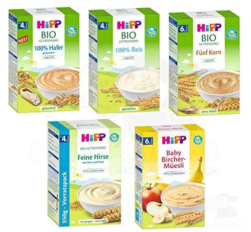 Hipp Bio Brei Mix, besteht aus 100% Hafer, 100%...