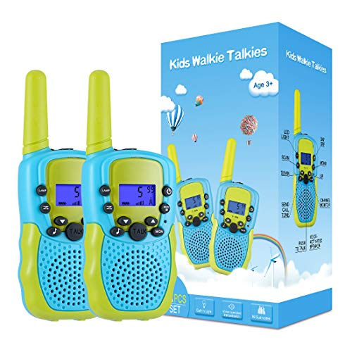 Kearui Spielzeug 3-12 Jahren Junge, Walkie Talkies...