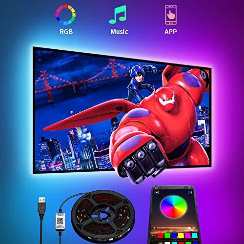 LED TV Hintergrundbeleuchtung APP,Romwish 4.5M LED...
