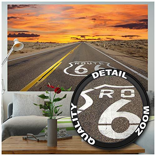 GREAT ART XXL Poster – Route 66 – Wandbild...