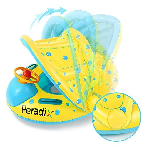 Peradix Baby Schwimmring Aufblasbares Schwimmen...