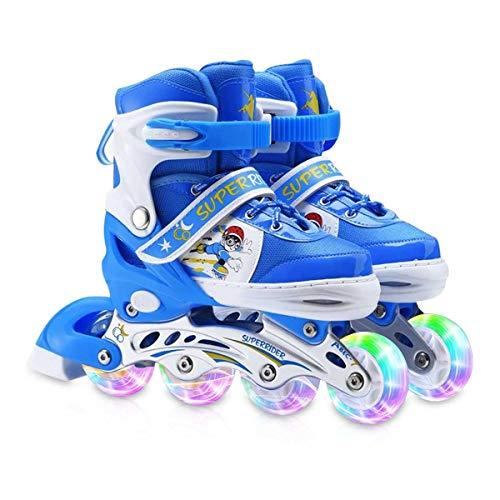 Zeroall Inline Skates für Kinder Einstellbare...