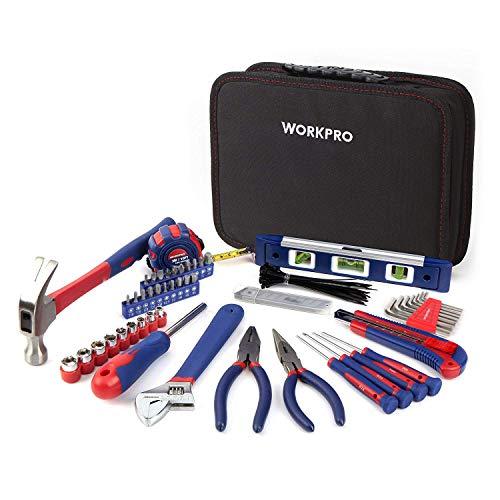 WORKPRO Werkzeugkoffer Werkzeugtasche...
