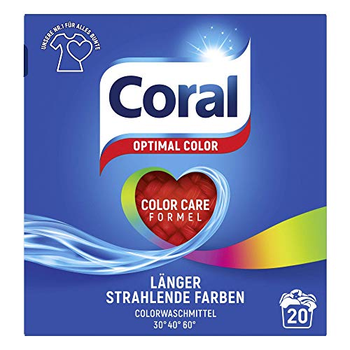 Coral Waschmittel Optimal Color Pulver 20 WL (1 x...