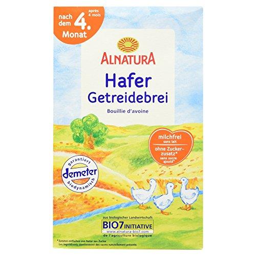Alnatura Bio Hafer Getreidebrei nach dem 4. Monat,...