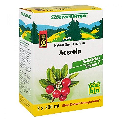 ACEROLA SAFT Schoenenberger Heilpflanzensäf 3X200...