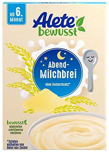 Alete bewusst Abend-Milchbrei, Babybrei ab dem 6....