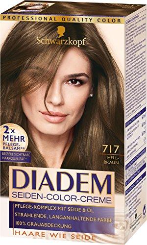 Schwarzkopf Diadem Seiden-Color-Creme, 717...