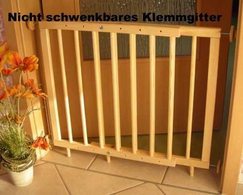 Türschutzgitter Treppenschutzgitter 70-110cm zum...