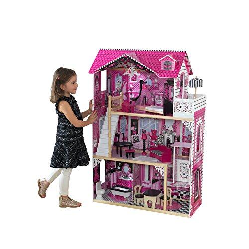 KidKraft 65093 Puppenhaus Amelia, Mehrfarbig