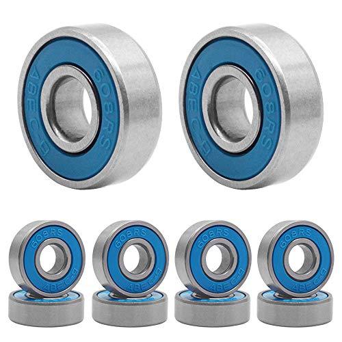 HOSTK 100 Stück Skateboard Lager, 608 ABEC-9 High...