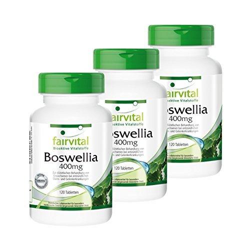 Weihrauch-Tabletten - Boswellia Serrata Extrakt...