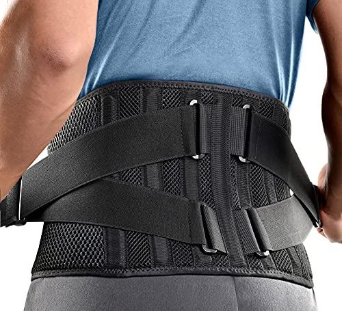 FREETOO Rückenbandage Mit 7...