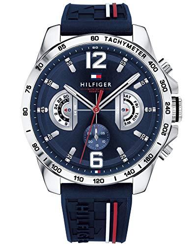 Tommy Hilfiger Unisex Multi Zifferblatt Quarz Uhr...