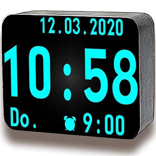 Riesige Digitale Uhr