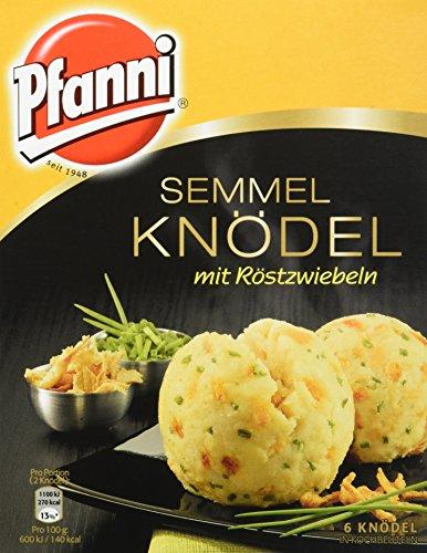Pfanni Semmelknödel mit Röstzwiebeln, 7er-Pack...