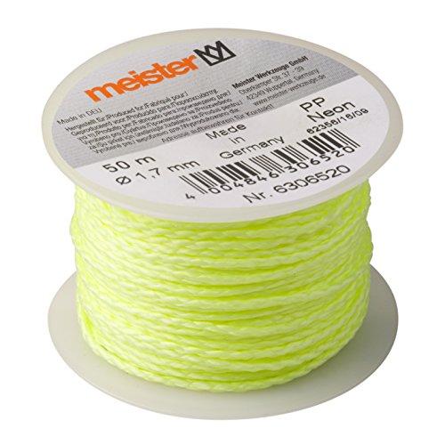 Meister Maurerschnur neon gelb - 50 m Länge - Ø...