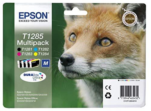Epson Original T1285 Tinte Fuchs, S22 SX125 SX420W...