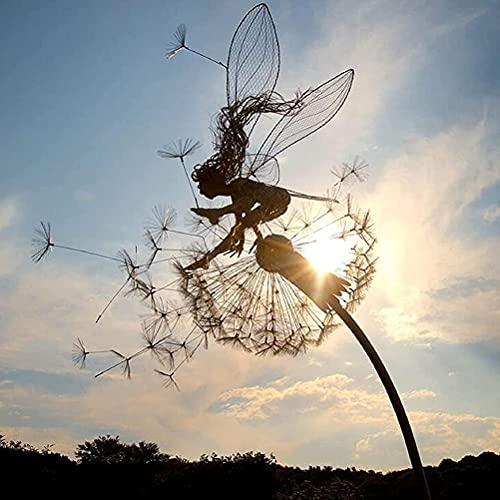 YAQIAN Garten-Silhouettenpfähle, dekorativer...