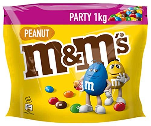 M&M'S Peanut, Schokoladenlinsen mit Erdnusskern,...