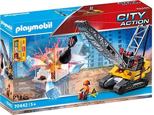 PLAYMOBIL City Action 70442 Seilbagger mit...