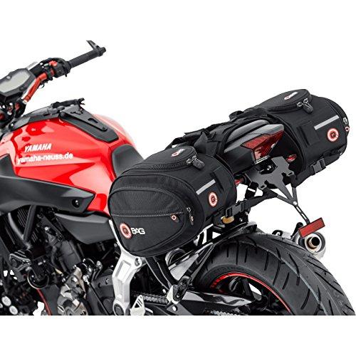 QBag Motorrad Satteltaschen für Motorrad Taschen...