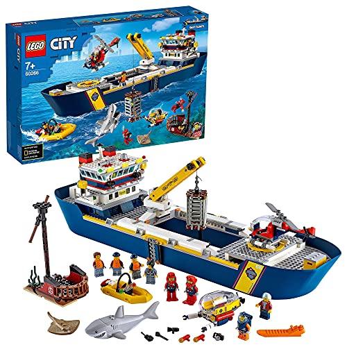LEGO 60266 City Meeresforschungsschiff,...