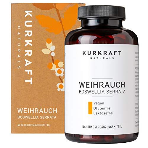 Kurkraft® Weihrauch Extrakt (85%) - 180 Kapseln...