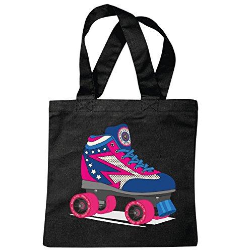 Tasche Umhängetasche Disco Roller - Skates - 80er...