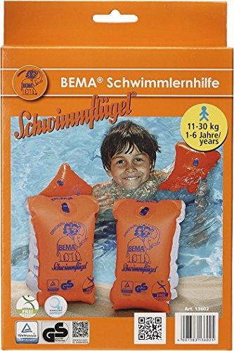 BEMA® Original Schwimmflügel, orange, Größe 0,...