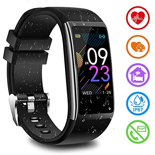 Fitness Armband mit Pulsmesser Blutdruckmessung...