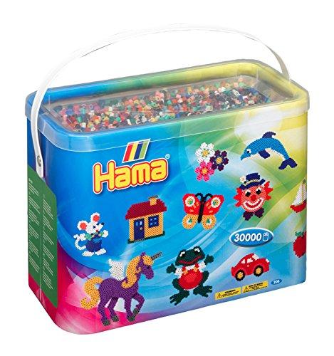 Hama Perlen 208-67 Bügelperlen im Eimer mit ca....