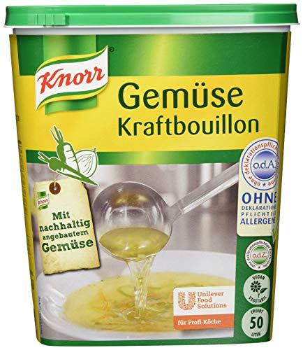 Knorr Gemüse Kraftbouillon Gemüsebrühe rein...