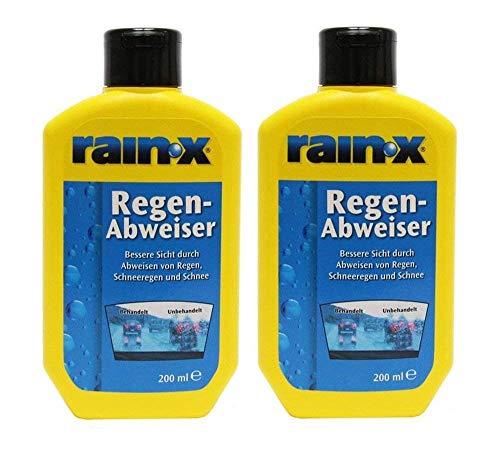 2x Rain-X Regenabweiser 200 ml Scheibenwischer...