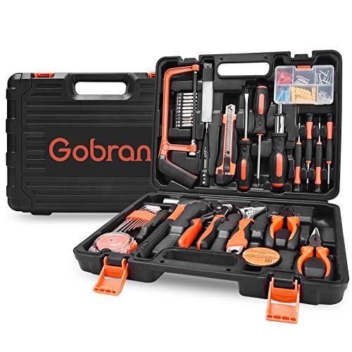 Werkzeugset im Koffer Haushalts Werkzeugkoffer 100...